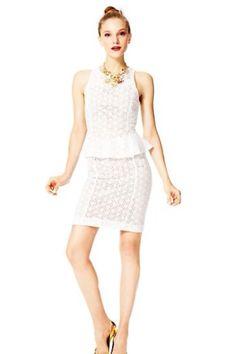 Dont miss the winning Fashion Star collection at Macys! Lace Peplum, Peplum Dress, Star Fashion, Work Wear, Fashion Brands, Cool Outfits, Stars, Formal Dresses, Season 2
