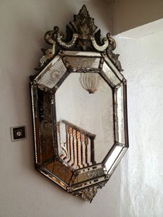 #antique mirror  I love this piece!