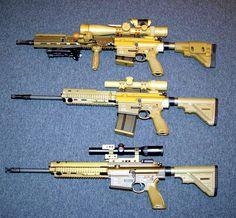 HK Trio (G28, G28 Patrol, HK417A2 DMR)