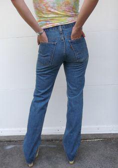 Vintage Levi Strauss Jeans Orange Tab 1970s 1980s by rileybella123, $49.00