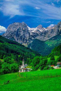 Mountain Village, Ramsau, Baviera, Alemania