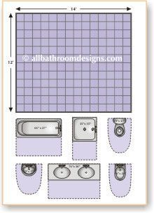 bathroom layout planner - Small Bathroom Design Layouts