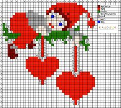 Sticken How To Bonsai - Critical Bonsai Care Tips Article Body: Bonsai Care Well, you have got the w Cross Stitch Christmas Ornaments, Xmas Cross Stitch, Cross Stitch Heart, Cross Stitch Cards, Cross Stitch Kits, Christmas Cross, Cross Stitch Designs, Cross Stitching, Cross Stitch Embroidery