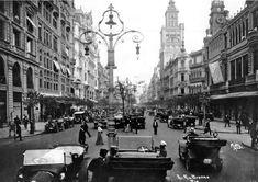Downtown of Rio, Rio Branco Avenue (1910's)