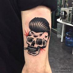 @siho_tattooist 님이 작업한 올드스쿨 해골타투. Old school skull tattoo by artist @siho_tattooist 문의:http//www.inkholic.kr 070-8256-1092 카톡ID:inkhoilc77 010-8944-7927 #inkholic #inkholictattoo #inkholickorea #tattoo #tattooist #oldschool #oldscooltattoo #skull #skulltattoo #잉크홀릭 #잉크홀릭타투 #시호 #타투이스트시호 #강남타투 #논현타투 #타투샵 #올드스쿨 #올드스쿨타투