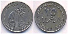 Qatar 25 Dirhem 1998