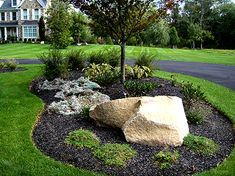 Landscaping Portfolio – Holly Days Nursery Burm Landscaping, Landscaping With Boulders, Driveway Landscaping, Luxury Landscaping, Landscaping Company, Landscaping Ideas, House Landscape, Boulder Landscape, Landscape Design