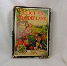 Alice in Wonderland Vintage 1920-1930 Hardcover Book