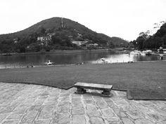 Lago do Sesc Quitandinha.
