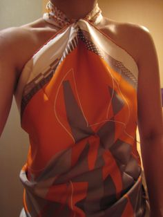 The How-To Guide to Wearing Scarves as Clothing!!! NO CHATTER!!! - PurseForum
