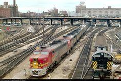 RailPictures.Net Photo: 65 Atchison, Topeka & Santa Fe (ATSF) PA-1 at Kansas City, Missouri by Bill Marvel