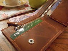 Test our quality: Money Clip Wallet, Minimalist Leather Wallets, Handmade wallet, Money Leather Wallet, Brown Leather Wallet by Babak1995 on Etsy