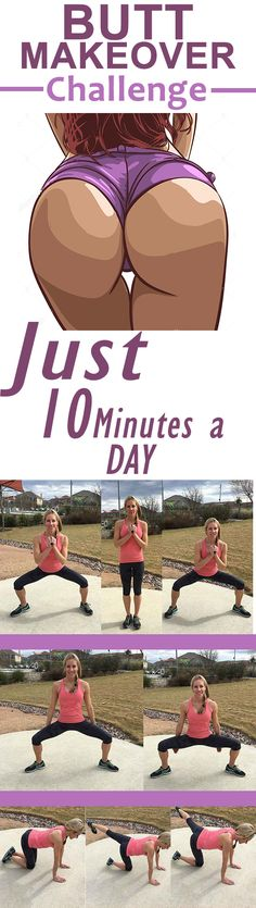 Butt Makeover Challenge—It Takes Just 10 Minutes A Day