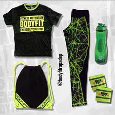 #NewSet #NeonCollection #ExerciseYourStyle