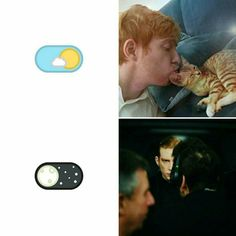 Hux by day vs Hux by night