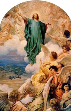 The Ascension of the Lord by Gustave Doré