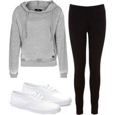 """Lazy Day Outfit"" by tashhx0 on Polyvore. More like 'everyday' outfit!"