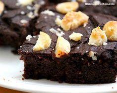 Siaśkowe gotowanie: Brownie jaglane z orzchami macadamia bez cukru - bezglutenowe.