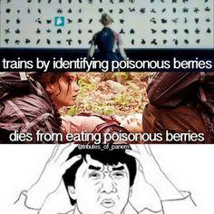 Lol haha funny pics / pictures / Hunger Games Humor / Fox Face / Peeta / Katniss