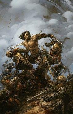 Eternal Warrior Vol. Sword Of The Wild (Eternal Warrior )) Comic Art, Comic Books, Valiant Comics, Savage Worlds, Conan The Barbarian, Knight Armor, Sword And Sorcery, Retro Art, Dungeons And Dragons