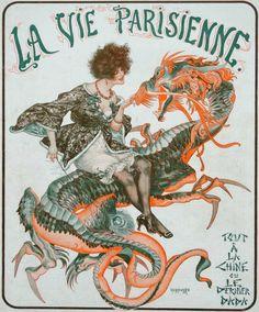 La Vie Parisienne cover by Chéri Hérouard October 30, 1920