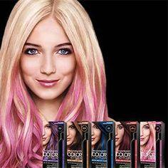 Sponsored: Temporary Hair Color Fun with Garnier Color ...