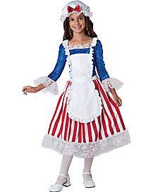 Kids Betsy Ross Costume
