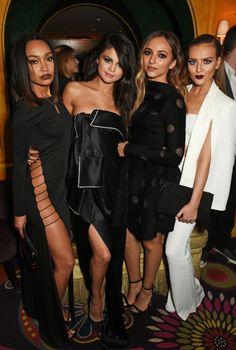 Little Mix and Selena Gomez