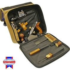 The Faithfull 7 Piece Carpenters Tool Set is supplied in a padded carry bag. All seven tools are made to the highest quality from the finest hardwood, brass and steel. Supplied in a sturdy carrying and storage case. Plane Tool, Woodworking Tool Kit, Marking Gauge, Heating And Plumbing, Carpenter Tools, Man Cave Gifts, Wine O Clock, Novelty Gifts, Tool Set