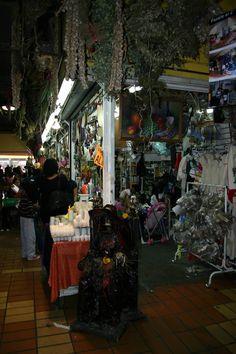 Market stand, mercado Juarez, Monterrey, Mexico