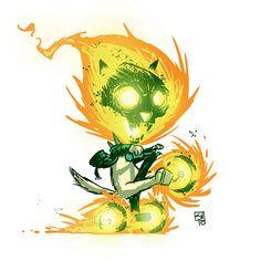 Marvel Cats Ghost Kitty Rider by skottieyoung.deviantart.com on @deviantART