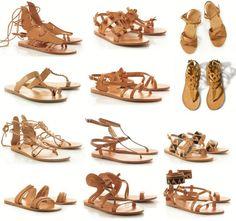 Tu ce model de sandale grecești îți alegi?