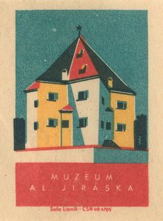 Czech matchbox label by Shailesh Chavda
