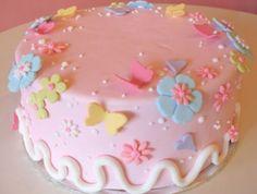 Fondant Birthday Cakes For Beginners | Cake Decorating Ideas For Beginners