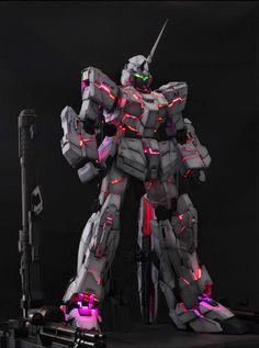 GUNDAM GUY: PG 1/60 RX-0 Unicorn Gundam w/ LED - Painted Build