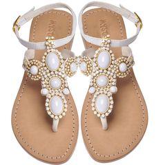 Beach Wedding Sandals Mystique Style# 4040
