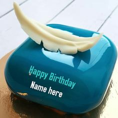 Write name on happy birthday cake,blue color birthday cake with name,cubical shaped name cake for dad,birthday wishes cake with name for papa Birthday Cake For Wife, Dad Birthday Wishes, Happy Birthday Name, Birthday Cards, Write Name On Cake, Cake Name, Strawberry Birthday Cake, Birthday Cake With Flowers, Glace Cake