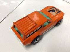 Vintage 1975 Lesney England Matchbox Superfast No 34 Vantastic Orange Van  $10.09