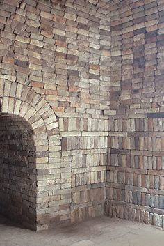 A cemetery was discovered in the Chinese city of Kucha, which once formed part of the Silk Road trade routes that connected China to the Roman Empire. Faux Brick Walls, Beautiful Ruins, Thing 1, 17th Century Art, Old Cemeteries, Old Bricks, Mystery Of History, Silk Road, Brickwork