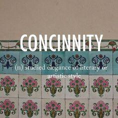 Concinnity |kənˈsinitē| mid 16th century Latin from concinnus 'skillfully put together.' #beautifulwords #wordoftheday #Singapore #TanjongPagar #tiles #pattern