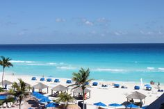 cancun beaches | Many people know I hate cold water...and I was not about to jump into ...