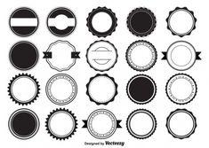 Www Logo, Rundes Logo, Logo Rond, Free Label Templates, Labels Free, Badge Template, Payroll Template, Coffee Shop Logo, Vector Photo
