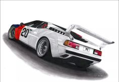 The art of Guilhem Massie Bmw M1, Car Drawings, Car Sketch, Bike, Cars, Photography, Brushes, Germany, Sketches
