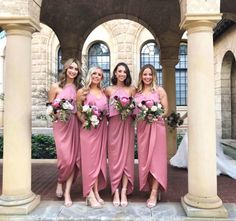 65dbbe0ad34dc Pink bridesmaid dresses 💞Mix and match with our Shona Joy Bridesmaids  Range! Pink Bridesmaid