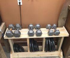 DIY Weight Rack