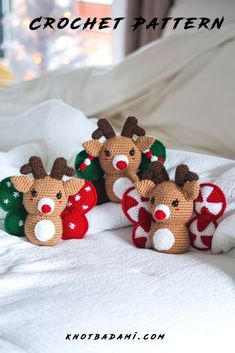 Make your very own cute crochet butterfly reindeer! Get started with amigurumi with this crochet pattern for your christmas gifts and decor. Create your own cute reindeer with this easy and unique crochet pattern. Cute and kawaii, this basic and beginner friendly DIY project is perfect for any crocheter that loves christmas and summer. This stuffed animal amigurumi is perfect for home decor. Great project for the holidays! Stuffed animal plushie that can be made quickly with lion brand yarn. Unique Crochet, Easy Crochet Patterns, Cute Crochet, Amigurumi Patterns, Simple Crochet, Crochet Dolls, Holiday Gifts, Christmas Gifts, Beginner Crochet Projects