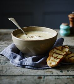Roasting really brings out the sweet, earthy flavour of parsnips and makes for a wonderfully aromatic soup