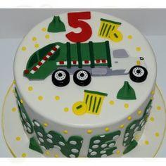 garbage truck cake - Google Search