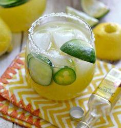 Sparkling Cucumber Mint Gin | Recipe | Gin, Mint and The Menu