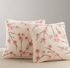 For on the Glider - Cherry Blossom Wool Felt Pillow Cover Cute Pillows, Diy Pillows, Decorative Pillows, Throw Pillows, Wool Pillows, Accent Pillows, Restoration Hardware Baby, Felt Pillow, Pillow Fabric